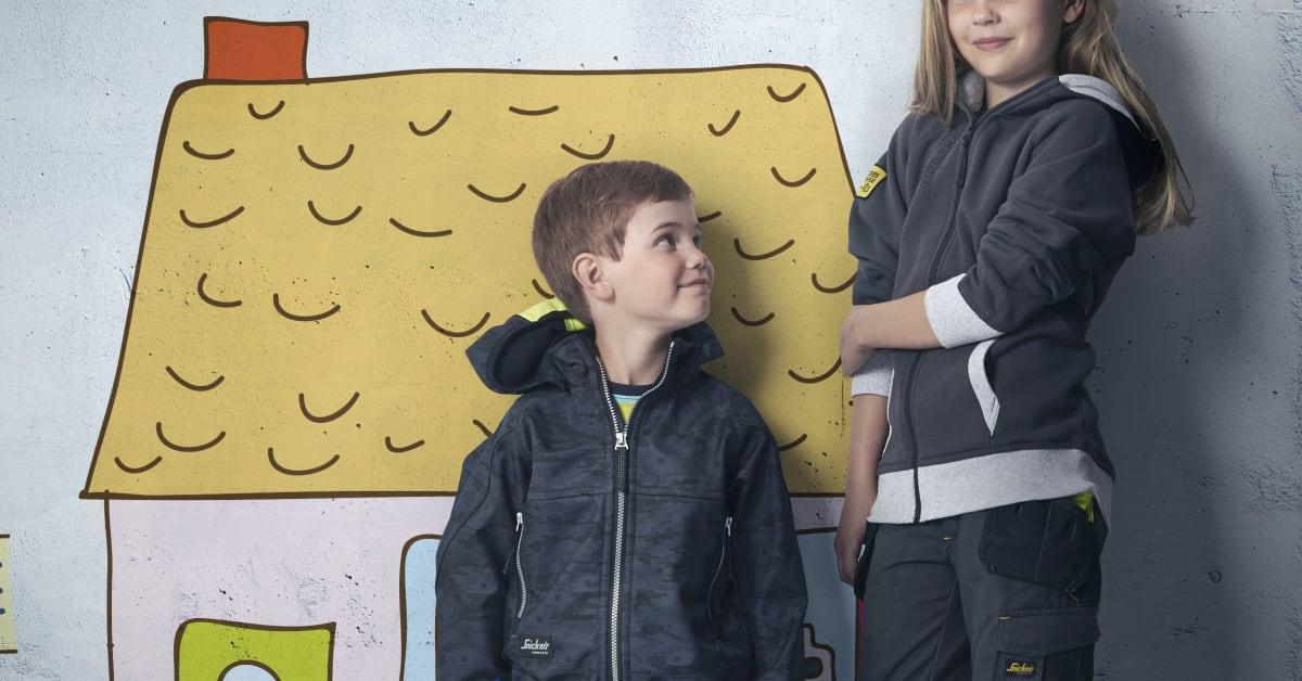 Snickers Workwear lanserer arbeidstøy for barn Hultafors