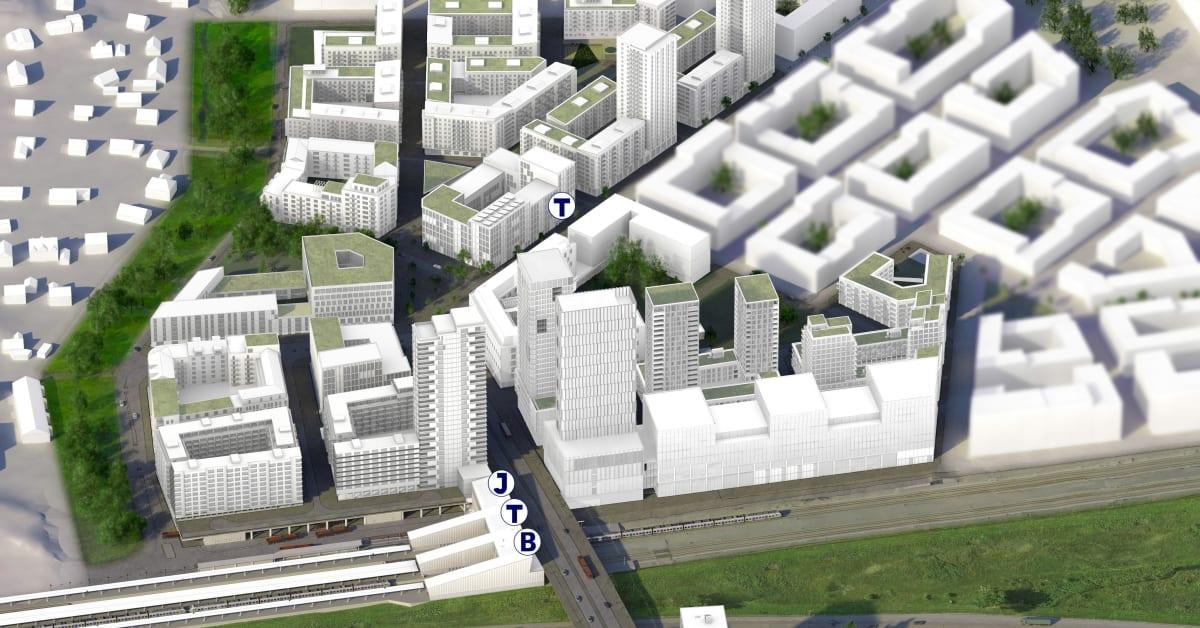 Avtal klart mellan Järfälla och Veidekke Eiendom – industriområde förvandlas till stad i Barkarby