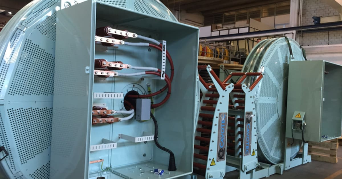 Cavotec Shore Power Units Set For Shipping To China Cavotec