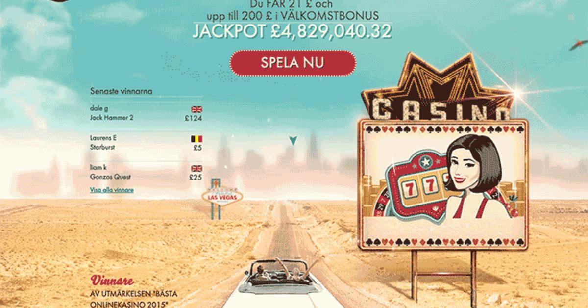 Nya online casino 500