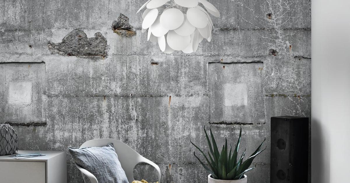 fashion betong p tapeten midbec. Black Bedroom Furniture Sets. Home Design Ideas