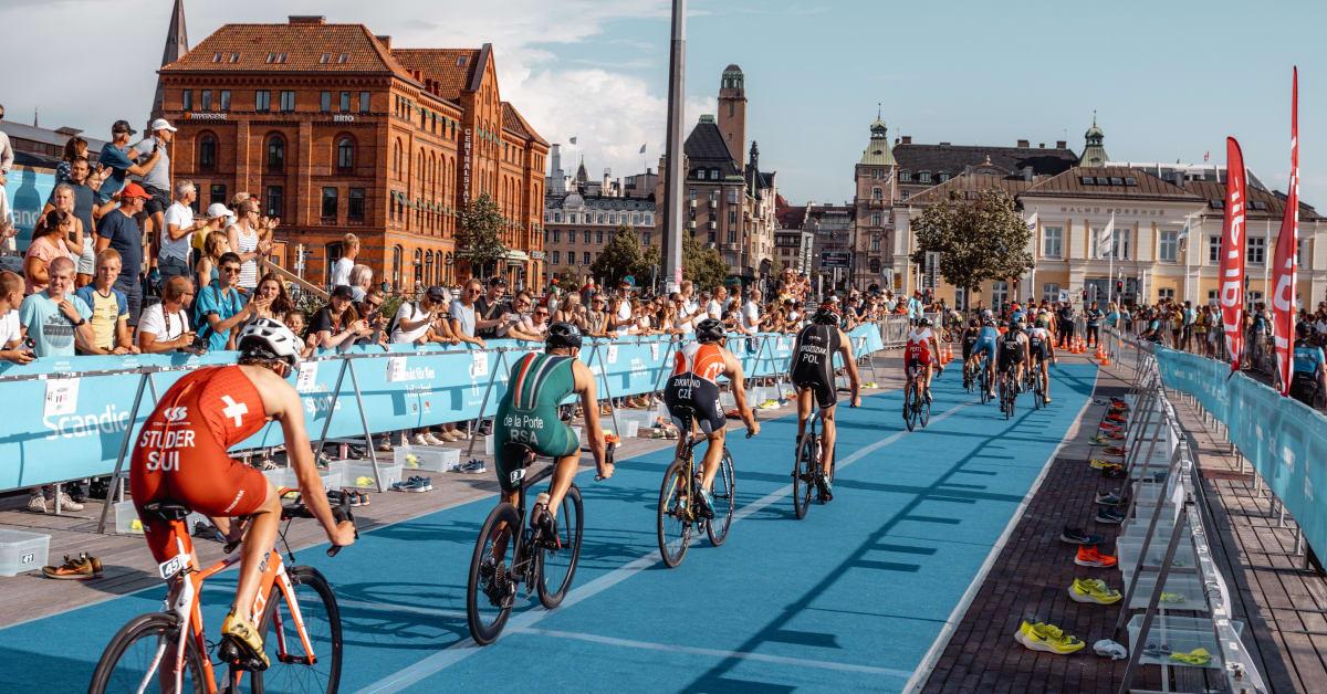 Triathlon Sprint European Championships Malmö och Stockholm Triathlon ställs in pga Covid-19.