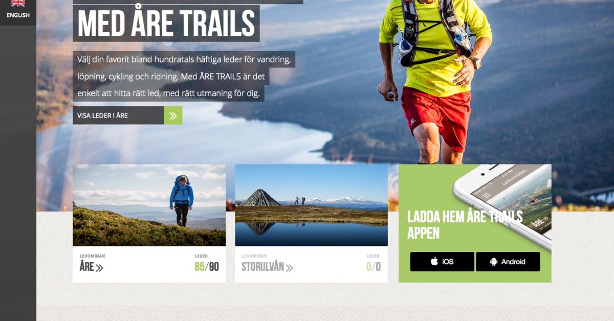 Are Trails En Digital Guide Och Realtidsstyrd 3d Karta Gaia System