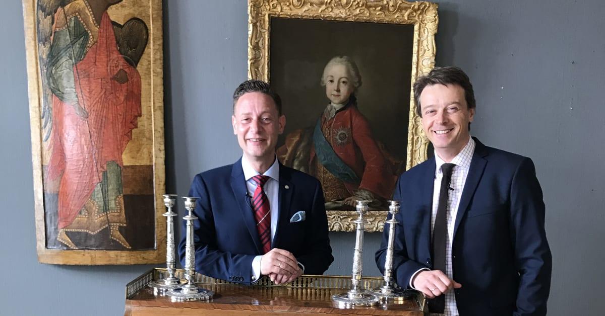 Blomqvist og Bruun Rasmussen slår verdensrekord på russiske ikoner - Bruun Rasmussen Kunstauktioner