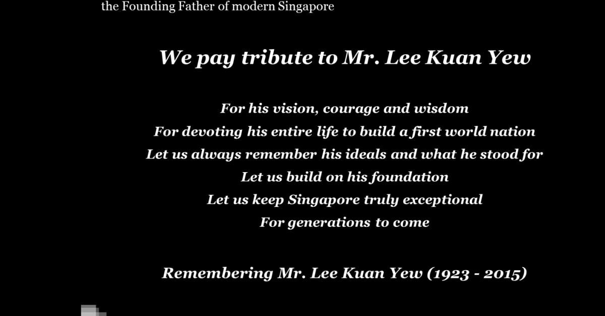 PwC Singapore remembers Mr  Lee Kuan Yew - PwC Singapore