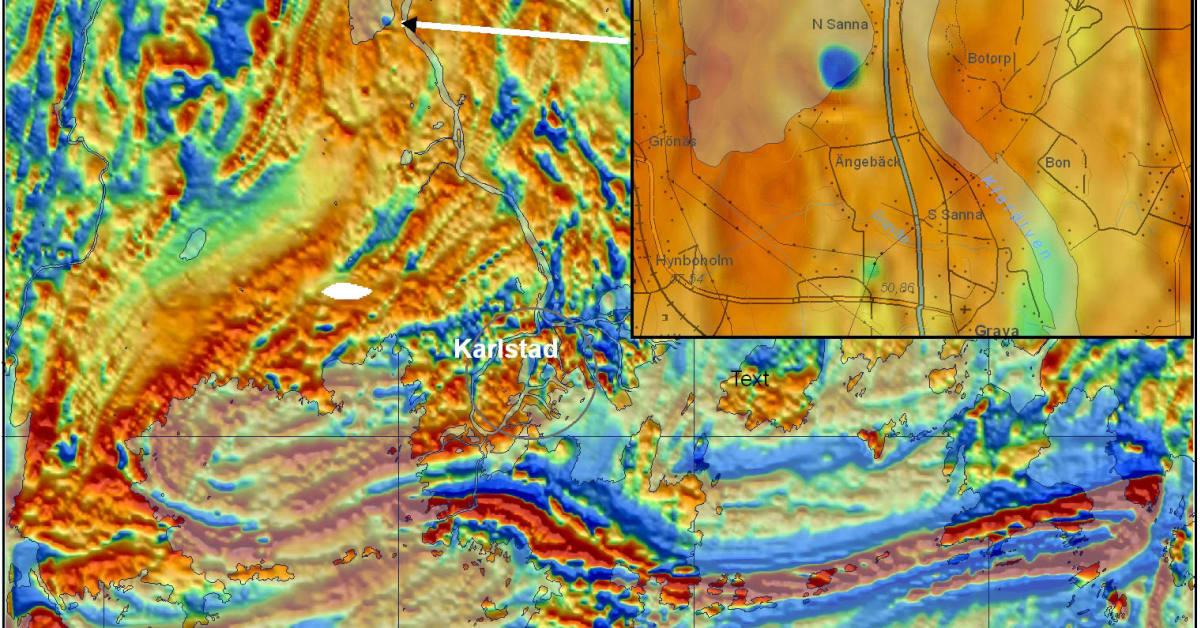 detaljerad karta över värmland