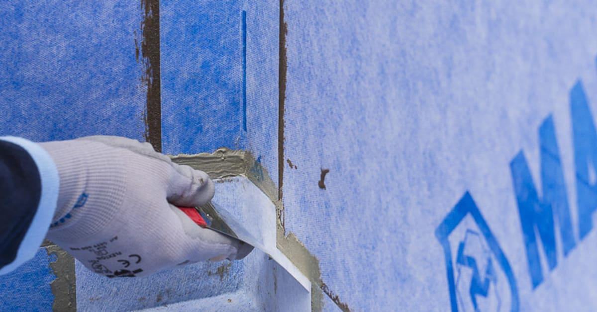 Inredning tätskikt våtrum : Mapei lanserar Mapeguard WP 90 System - ett nytt tätskiktssystem ...