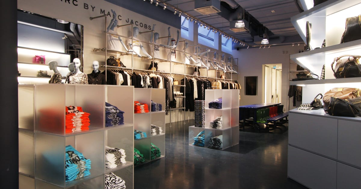 Price and marc jacobs store