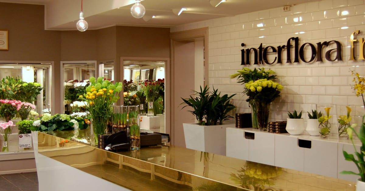 interflora återförsäljare umeå