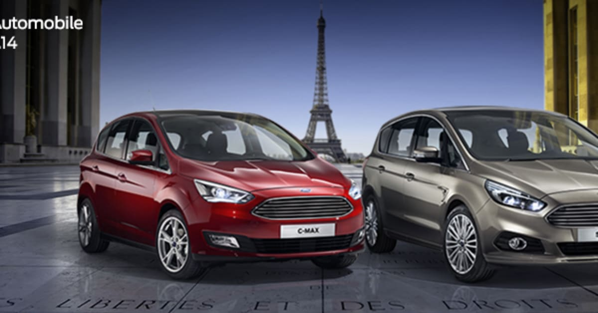 Ford motor company visar helt nya s max nya c max och Ford motor company press release