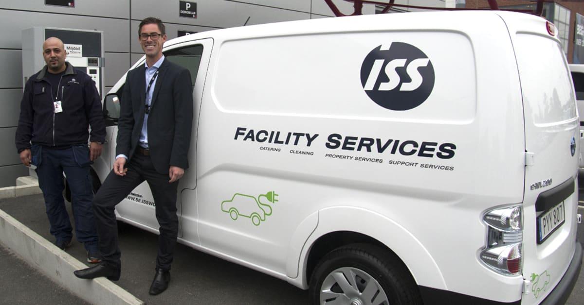 Iss Facility Services : Iss satsar på elbilar för minskad miljöpåverkan