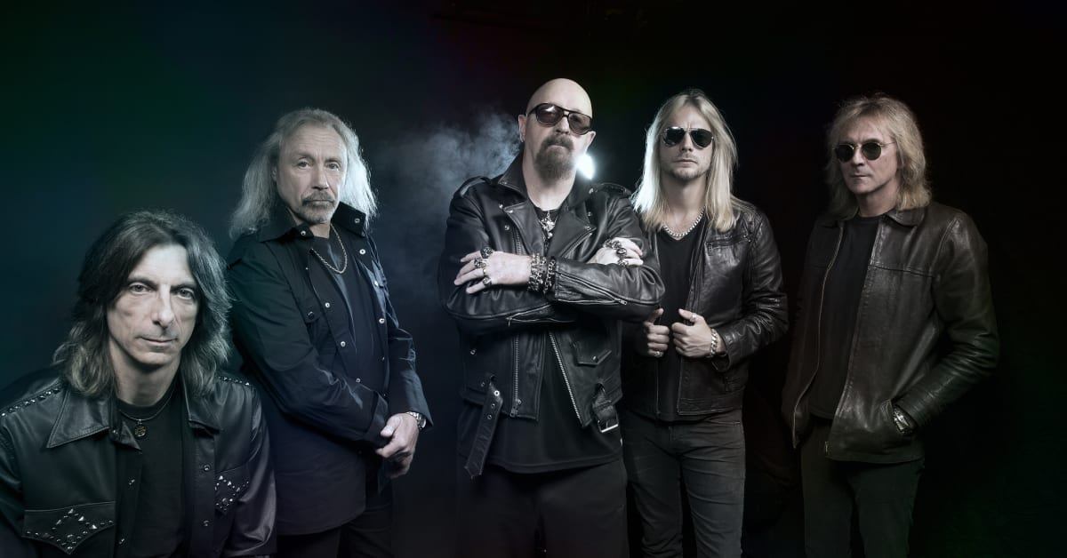 Linköpingsband supportar Judas Priest