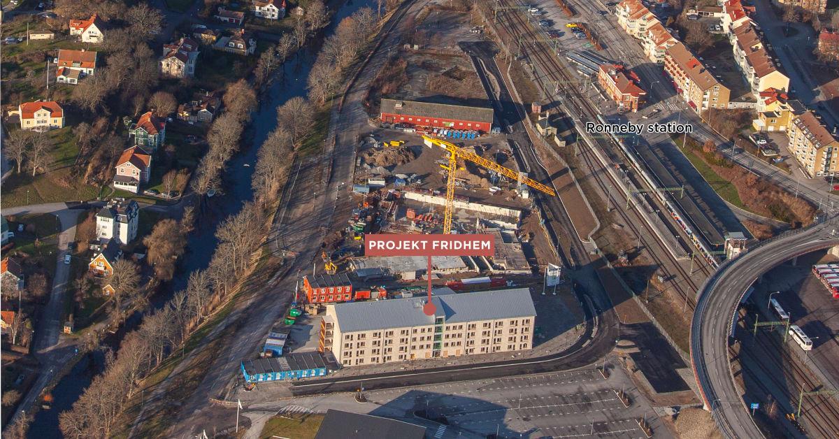 Attendo avyttrar nybyggt äldreboende i Ronneby till Fastighets AB Stenvalvet