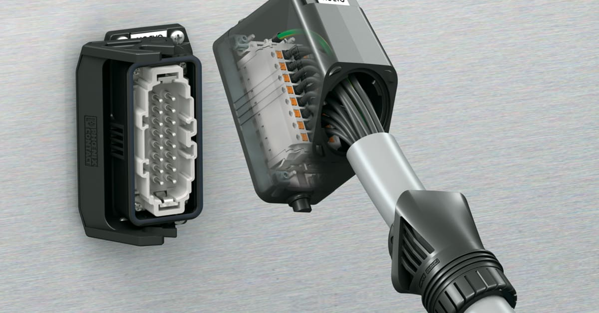 Plastic Plug-In Connectors With Adjustable