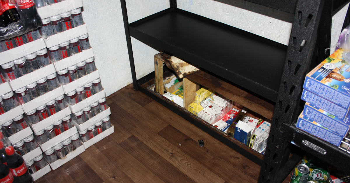 Illicit Tobacco Seized In Derby Hm Revenue Amp Customs Hmrc