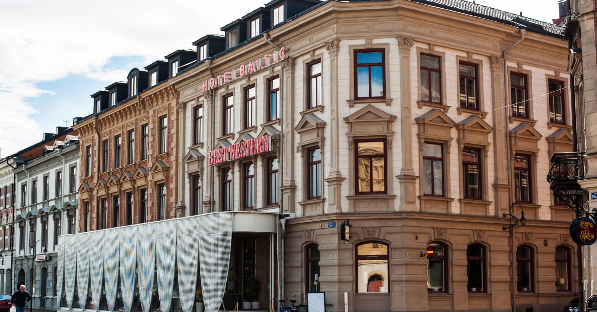 Best western hotel baltic f r stor uppm rksamhet ute i for Best hotel group