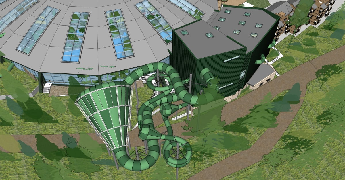 Making A Splash Center Parcs Unveils Designs For New Raft Rides Center Parcs