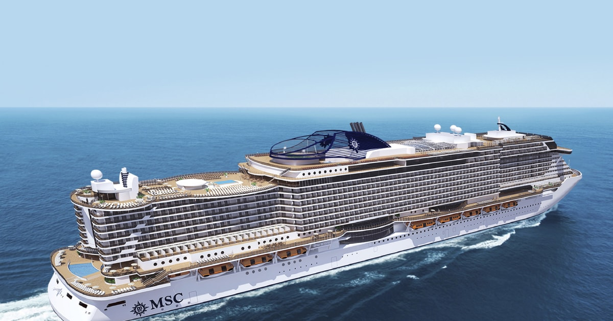 Nye MSC Seaside - MSC Cruises Scandinavia