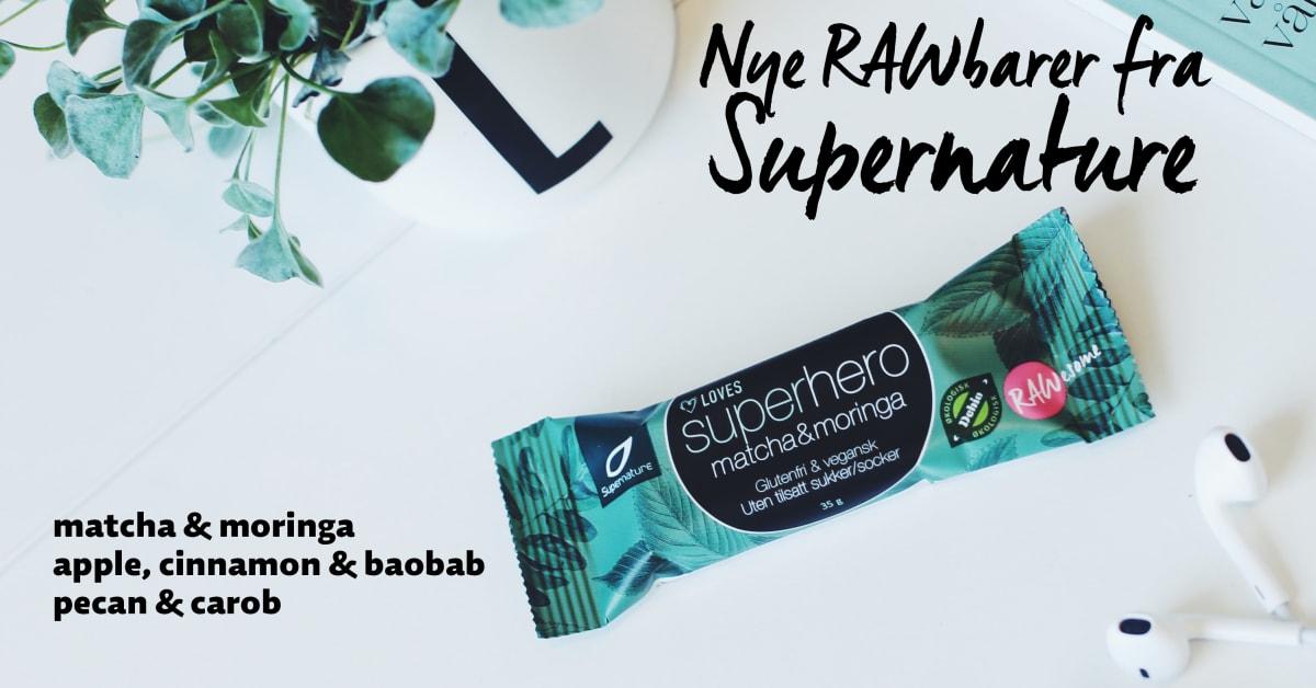 Supernature Superhero Carob & Pecan 35g