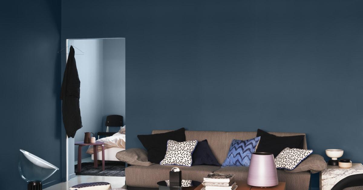 Hitta djupet med kulörtrenden studio blå   alcro färg