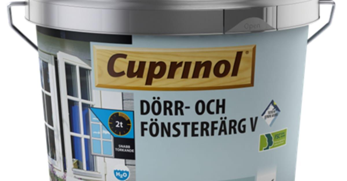 cuprinol dörr och fönsterfärg