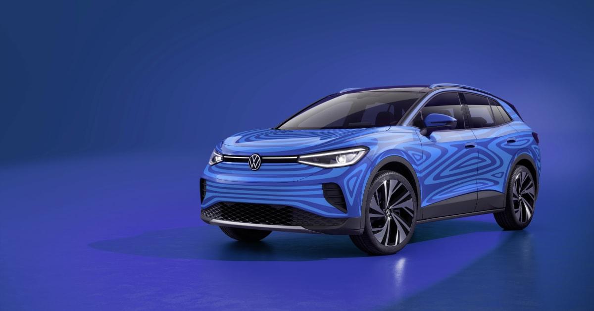 De första detaljerna om Volkswagens helt eldrivna SUV ID.4