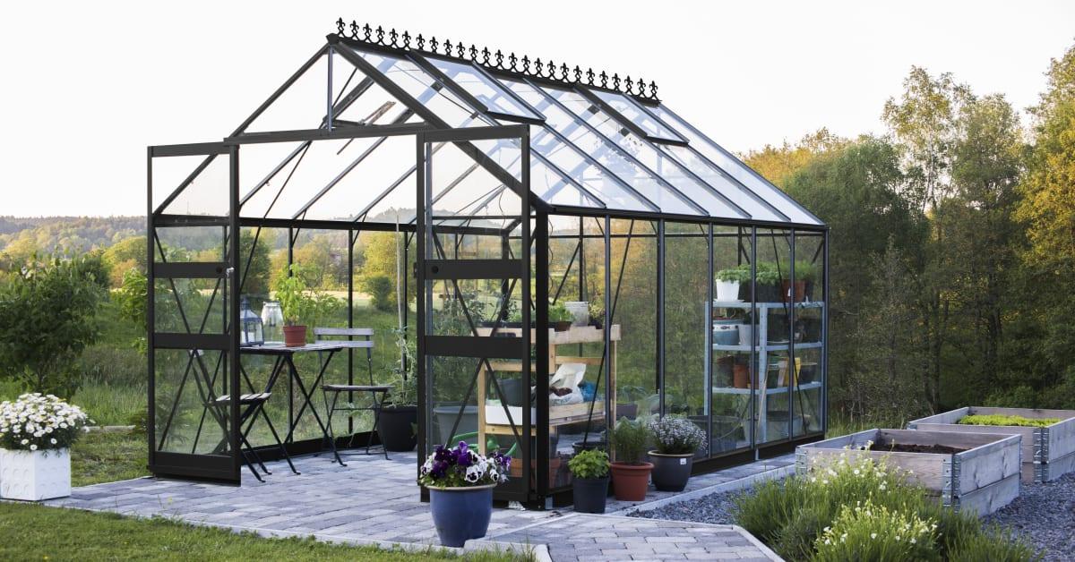 Skånska byggvaror växthus odla