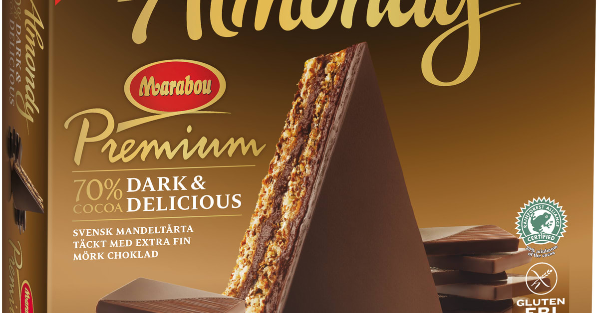 Almondy Marabou Premium Dark & Delicious 70% - Almondy AB Almondy