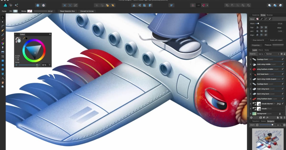 The ultimate vector graphics software for Mac