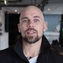 Patrik, ägare på det Falunbaserade företaget Må Bättre, är nöjd Dialectkund