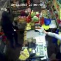 CCTV: Robbery at Hackney supermarket, 10 March