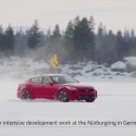 Kia Stinger i vintertest i Arjeplog, nord-Sverige