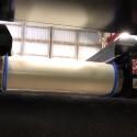 Kort demofilm som visar hur aluminium separeras med virvelström