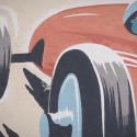 Så skapades Lendos väggmålning