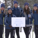 Bluewater team ski's 90k Vasaloppet marathon to promote fight against plastic in the planet's oceans
