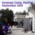 Preview: Better Shelter in Karatepe camp, Mytilini, Greece September 2015