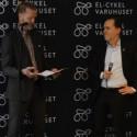 Trafikborgarrådet Daniel Helldén frågas ut av Klas Elm, VD Svensk Cykling