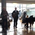 Vamp spiller på Oslo Lufthavn