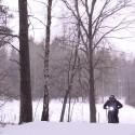 Vinter-skoj på elektrisk hoj