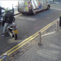 CCTV footage of attempted smash and grab