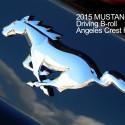 Klippbilder på Ford Mustang GT körandes
