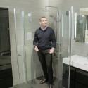 VikingBad leddet dusjhjørne for optimal plassbesparelse
