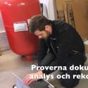 BRF Slipen del 1; besiktning av av golvvärmesystem med höga energikostnader