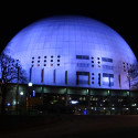 Ericsson Globe blir svart under Earth Hour