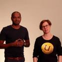 Josef från Lin med Annika och Jonas från Unikum berättar om Pluttras flytt.