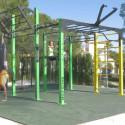 Forslag til bruk av en treningspark