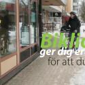 Biklioappen - ger erbjudanden till den som cyklar på Hammarö