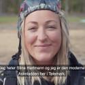 Se film fra Den Moderne Askeladdens/Stine Hartmanns landing i Telemark.