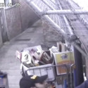 CCTV footage of attempted burglary in Tooting