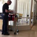 Ergonomiskt rullbord för kontoret